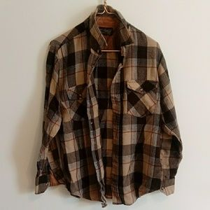 Vintage long-sleeve flannel